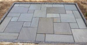 Terrasse - flisemønster